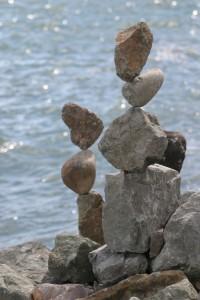 La Virtualisation c'est comme des roches en équilibre
