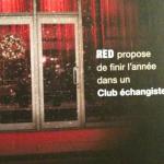 RED propose de finir l'Année dans un Club échangiste