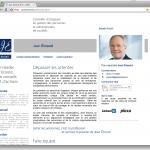 Jean Emond : Page accueil en français