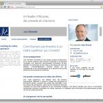 Jean Emond : Page «Cadre supérieur»