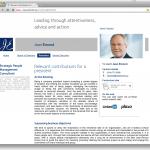 Jean Emond : Page «président» (version anglaise)